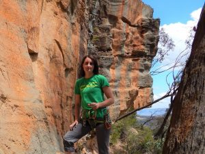 Caitlin - Climbers against Cancer - Canberra Indoor Rock Climbing Centre