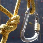 Image of Carabiner and Ropes - Canberra Indoor Rock Climbing