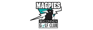 Image of the Belconnen Magpies Golf Logo - Canberra Indoor Rock Climbing