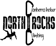 Image of the Mitchell North Rocks Logo - Canberra Indoor Rock Climbing